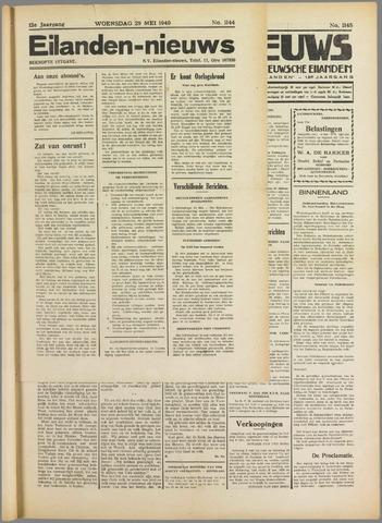 Eilanden-nieuws. Christelijk streekblad op gereformeerde grondslag 1940-05-29
