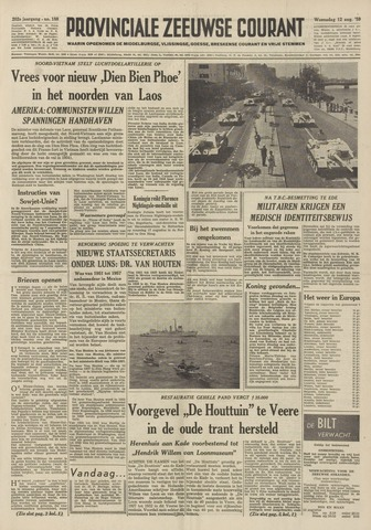 Provinciale Zeeuwse Courant 1959-08-12