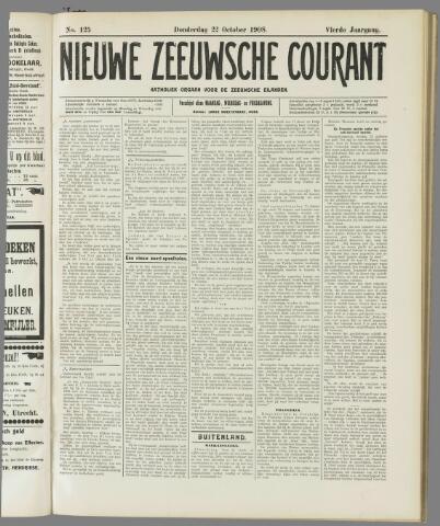 Nieuwe Zeeuwsche Courant 1908-10-22
