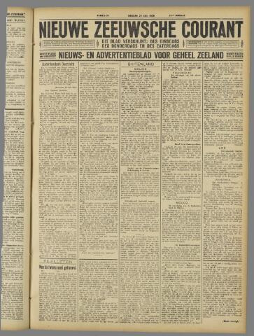 Nieuwe Zeeuwsche Courant 1926-07-27