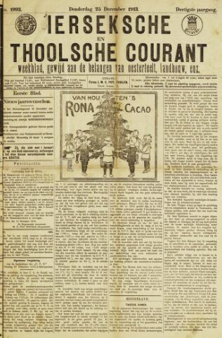 Ierseksche en Thoolsche Courant 1913-12-25