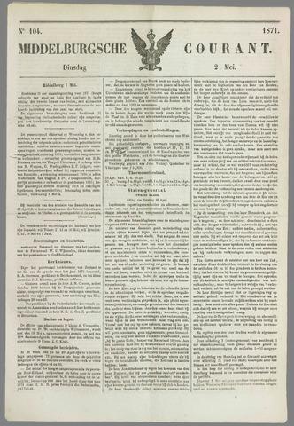 Middelburgsche Courant 1871-05-02