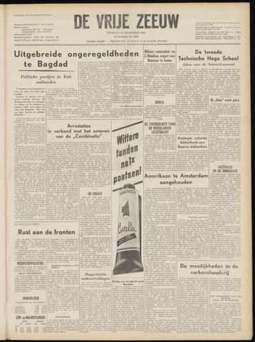 de Vrije Zeeuw 1952-11-25