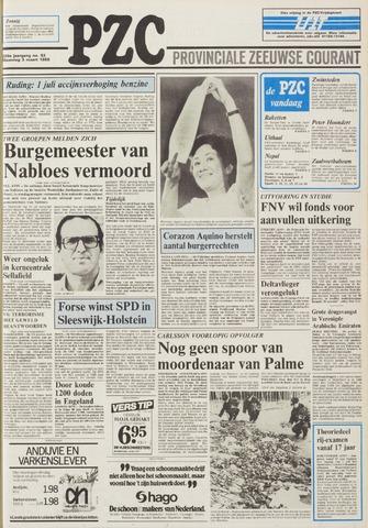 Provinciale Zeeuwse Courant 1986-03-03