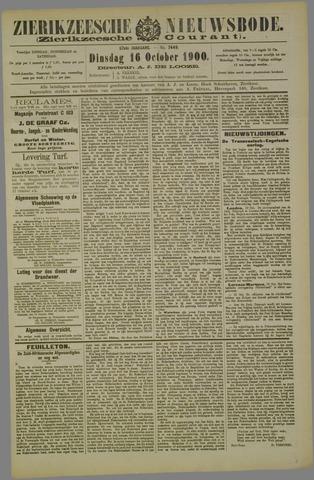 Zierikzeesche Nieuwsbode 1900-10-16