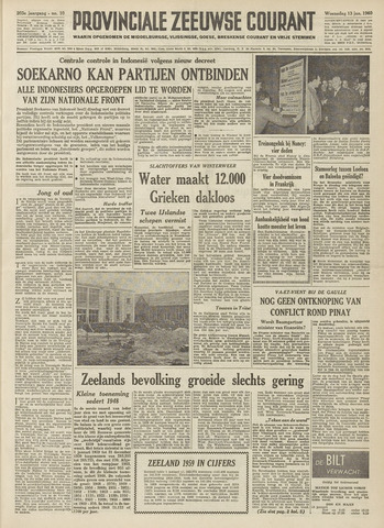 Provinciale Zeeuwse Courant 1960-01-13