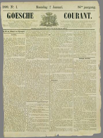 Goessche Courant 1899