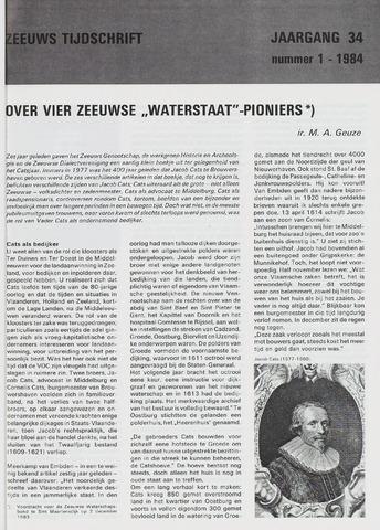 Zeeuws Tijdschrift 1984-01-01