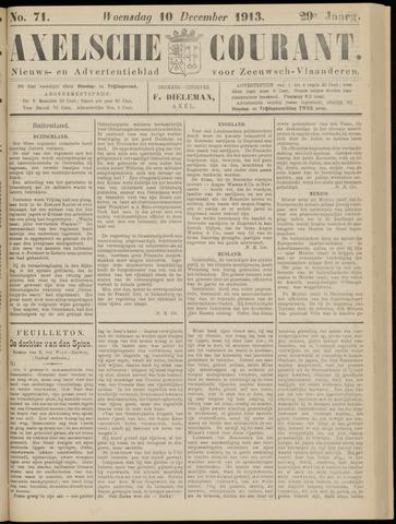 Axelsche Courant 1913-12-10