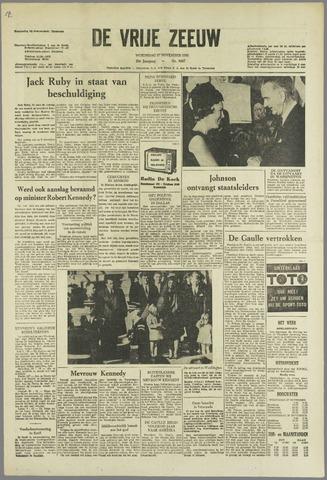 de Vrije Zeeuw 1963-11-27
