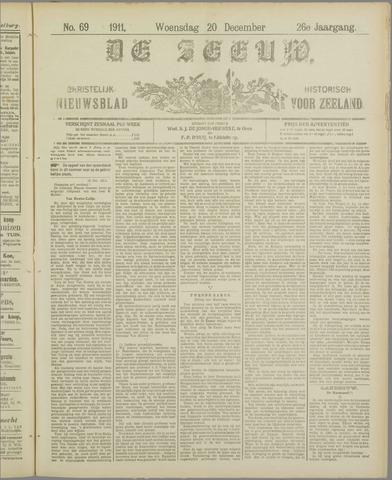 De Zeeuw. Christelijk-historisch nieuwsblad voor Zeeland 1911-12-20