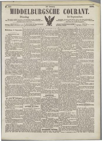 Middelburgsche Courant 1899-09-12
