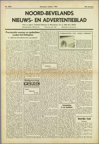 Noord-Bevelands Nieuws- en advertentieblad 1956-10-06