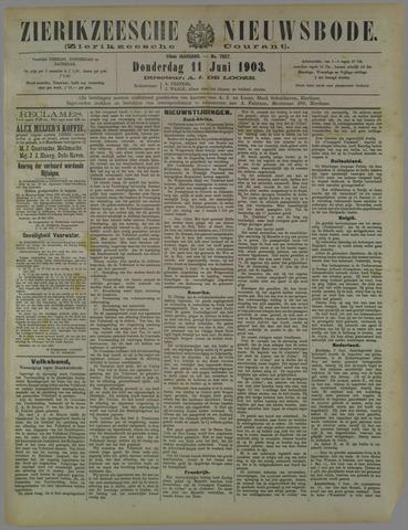 Zierikzeesche Nieuwsbode 1903-06-11