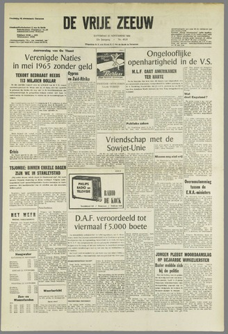 de Vrije Zeeuw 1964-11-21