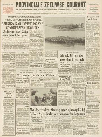 Provinciale Zeeuwse Courant 1965-05-04