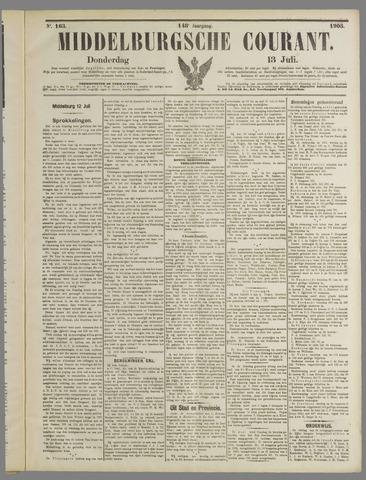 Middelburgsche Courant 1905-07-13