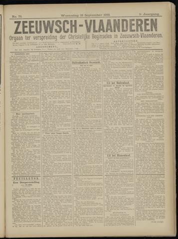 Luctor et Emergo. Antirevolutionair nieuws- en advertentieblad voor Zeeland / Zeeuwsch-Vlaanderen. Orgaan ter verspreiding van de christelijke beginselen in Zeeuwsch-Vlaanderen 1918-09-18