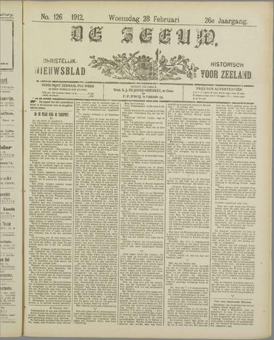 De Zeeuw. Christelijk-historisch nieuwsblad voor Zeeland 1912-02-28