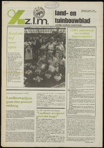 Zeeuwsch landbouwblad ... ZLM land- en tuinbouwblad 1981-04-03