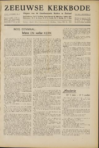 Zeeuwsche kerkbode, weekblad gewijd aan de belangen der gereformeerde kerken/ Zeeuwsch kerkblad 1950-08-04