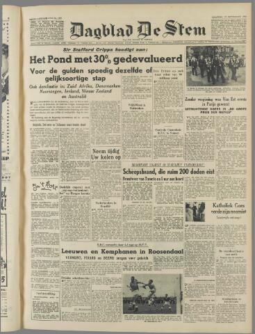 de Stem 1949-09-19