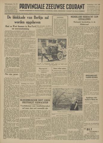 Provinciale Zeeuwse Courant 1949-05-05