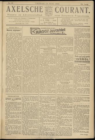 Axelsche Courant 1936-06-19