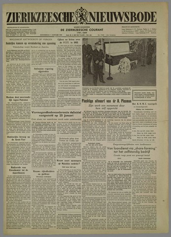 Zierikzeesche Nieuwsbode 1954-01-07