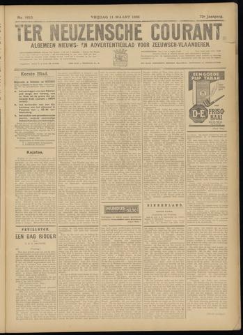 Ter Neuzensche Courant. Algemeen Nieuws- en Advertentieblad voor Zeeuwsch-Vlaanderen / Neuzensche Courant ... (idem) / (Algemeen) nieuws en advertentieblad voor Zeeuwsch-Vlaanderen 1932-03-11