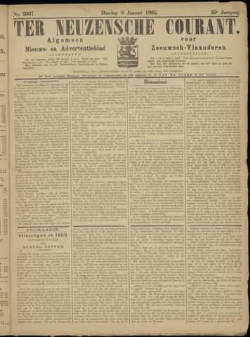 Ter Neuzensche Courant. Algemeen Nieuws- en Advertentieblad voor Zeeuwsch-Vlaanderen / Neuzensche Courant ... (idem) / (Algemeen) nieuws en advertentieblad voor Zeeuwsch-Vlaanderen 1895-01-08