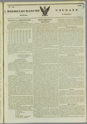 Middelburgsche Courant 1846-12-10