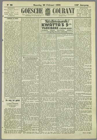 Goessche Courant 1932-02-29