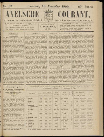 Axelsche Courant 1909-11-10