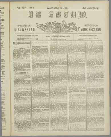 De Zeeuw. Christelijk-historisch nieuwsblad voor Zeeland 1912-06-05