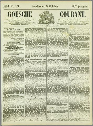 Goessche Courant 1896-10-08