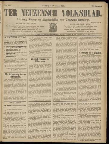 Ter Neuzensch Volksblad. Vrijzinnig nieuws- en advertentieblad voor Zeeuwsch- Vlaanderen / Zeeuwsch Nieuwsblad. Nieuws- en advertentieblad voor Zeeland 1911-12-16