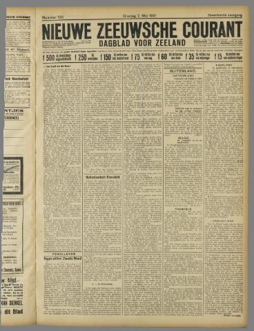 Nieuwe Zeeuwsche Courant 1921-05-03