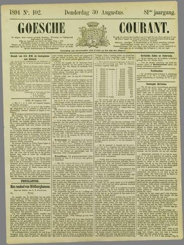 Goessche Courant 1894-08-30