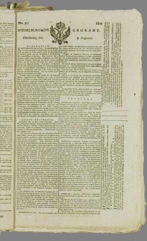 Middelburgsche Courant 1810-08-09