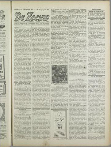 De Zeeuw. Christelijk-historisch nieuwsblad voor Zeeland 1943-08-10