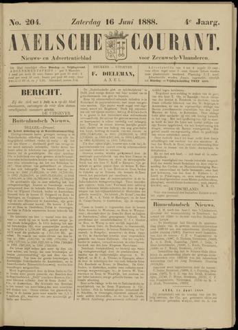 Axelsche Courant 1888-06-16