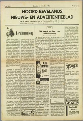 Noord-Bevelands Nieuws- en advertentieblad 1956-12-22