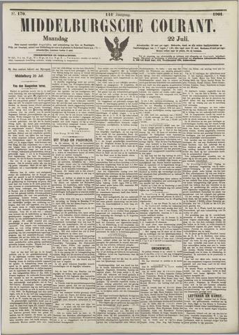 Middelburgsche Courant 1901-07-22