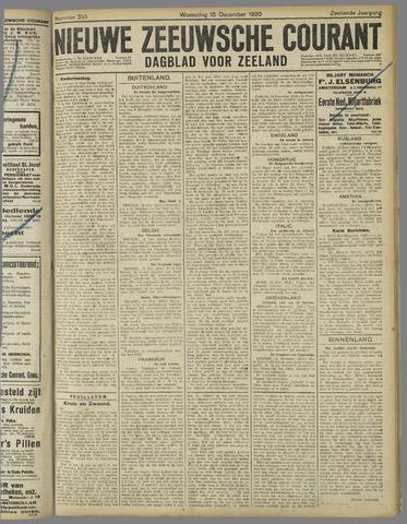 Nieuwe Zeeuwsche Courant 1920-12-15