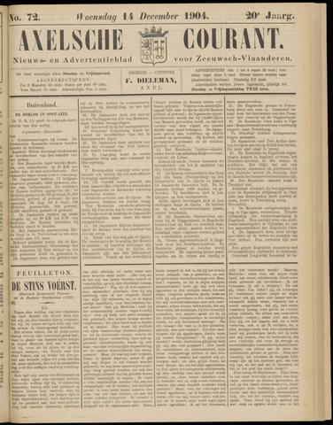 Axelsche Courant 1904-12-14