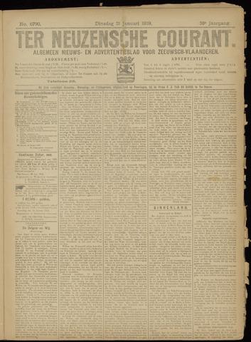 Ter Neuzensche Courant. Algemeen Nieuws- en Advertentieblad voor Zeeuwsch-Vlaanderen / Neuzensche Courant ... (idem) / (Algemeen) nieuws en advertentieblad voor Zeeuwsch-Vlaanderen 1919-01-21