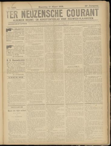 Ter Neuzensche Courant. Algemeen Nieuws- en Advertentieblad voor Zeeuwsch-Vlaanderen / Neuzensche Courant ... (idem) / (Algemeen) nieuws en advertentieblad voor Zeeuwsch-Vlaanderen 1928-03-26