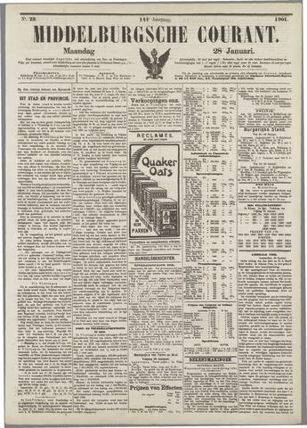 Middelburgsche Courant 1901-01-28