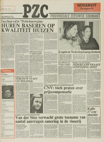 Provinciale Zeeuwse Courant 1976-10-22